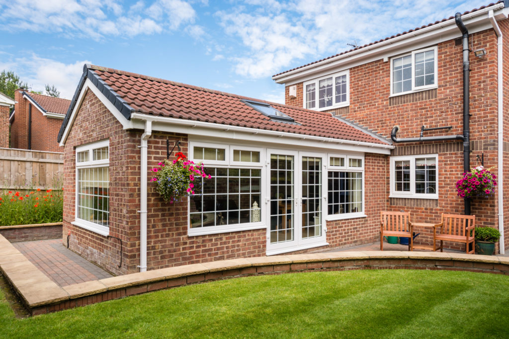 Warm roof sunroom extension from Warmseal Home Improvements